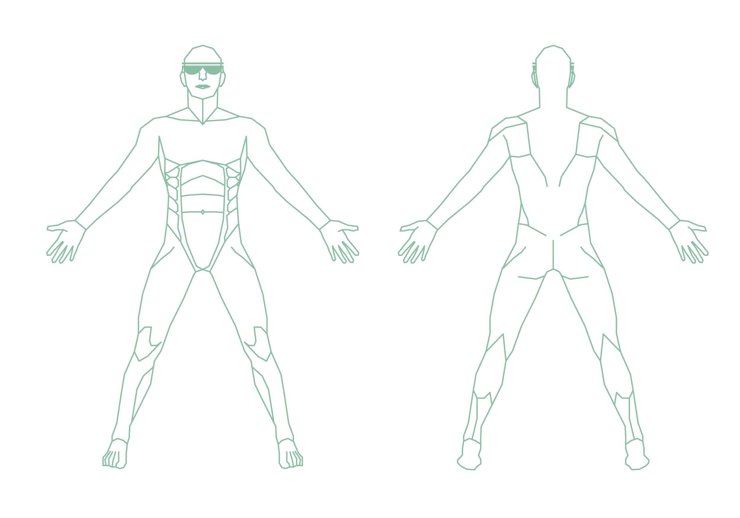 Übersicht – Körperregionen